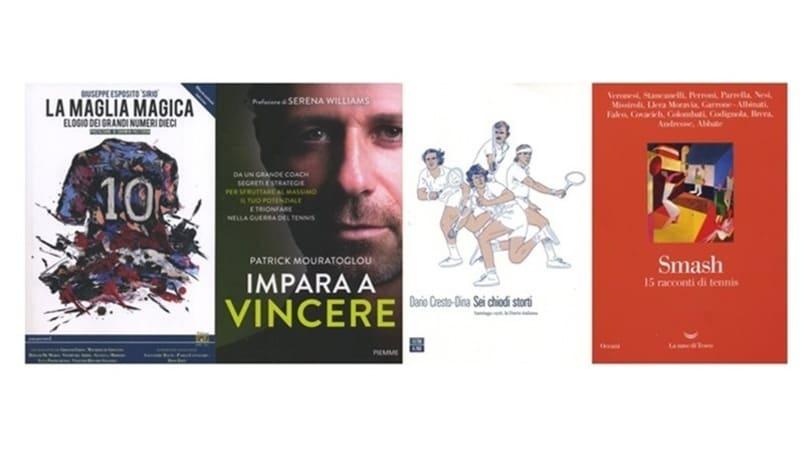 Il fascino della maglia numero 10 e tre libri sul tennis