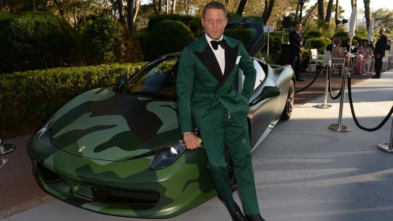 La Ferrari 458 di Lapo venduta a 1 milione