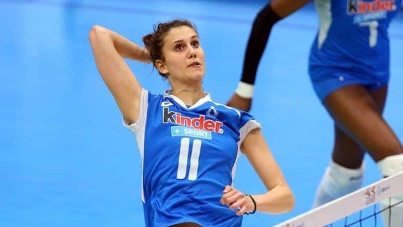 Volley: A1 Femminile, Anna Danesi, un'azzurra per Conegliano