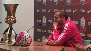Coppa Italia, Chiellini: «La Juventus ha fame, vogliamo un traguardo storico»