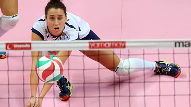 Volley: A1 Femminile, Ilaria Spirito è il libero della UYBA
