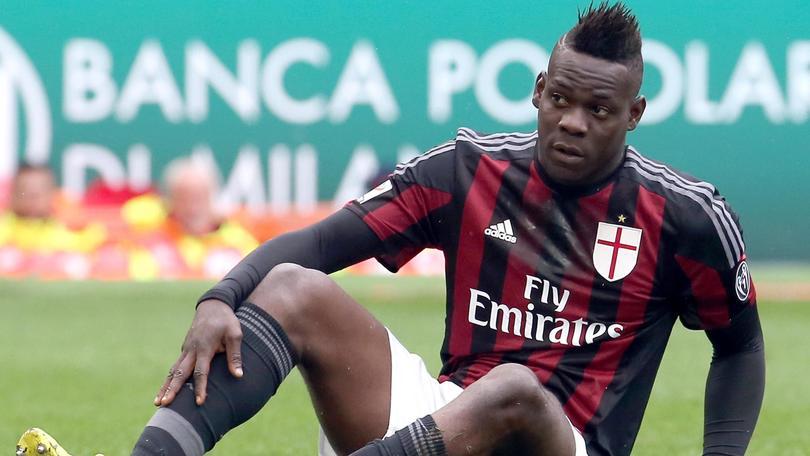 Balotelli, giallo per la 'fuga' durante Juve-Milan. Il club precisa