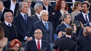 Coppa Italia, le maglie di Juve e Milan per Mattarella