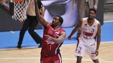 Basket Serie A, Milano reagisce: è 1-1