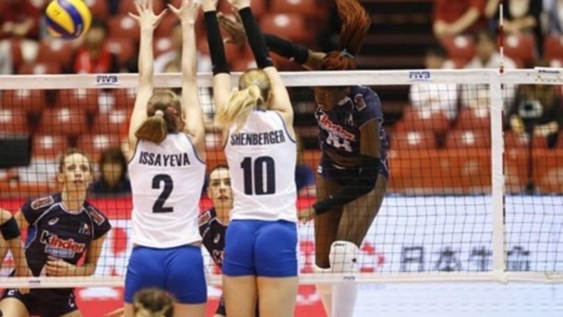 Volley: Qualificazioni Olimpiche, L'Italia chiude con la sesta vittoria