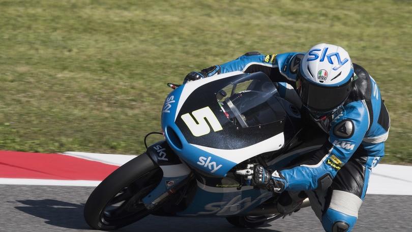 Moto3 Sky Racing Team VR46, Fenati: «Peccato per la gara»