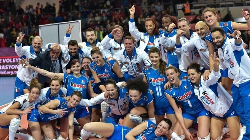 Volley: Qualificazioni Olimpiche, l'Olanda ko col Giappone, l'Italia è prima