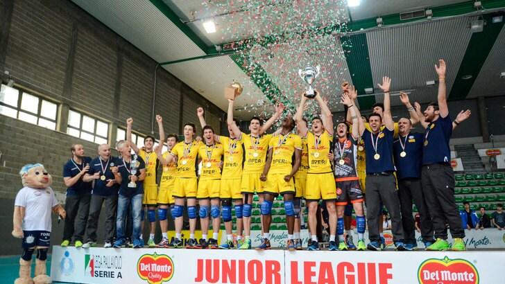 La DHL Modena vince anche lo scudetto di Junior League