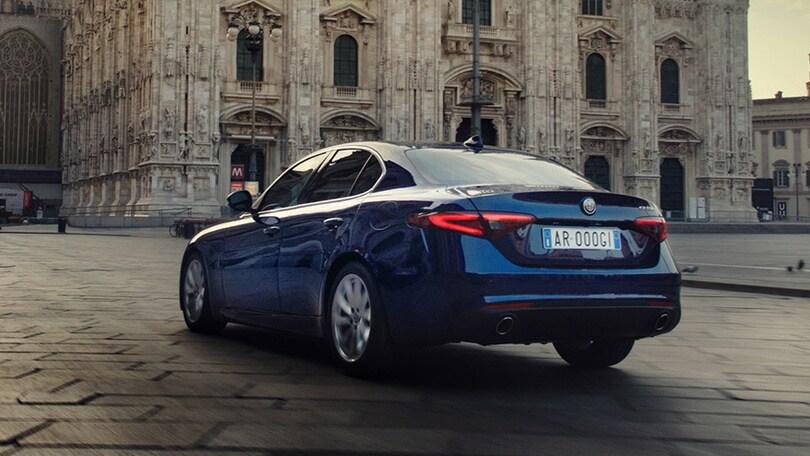 """Alfa Giulia, la milanese """"provoca"""" le concorrenti tedesche"""