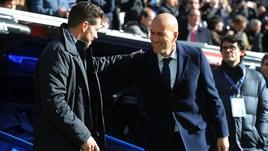 Champions, Real-Atletico: i numeri stagionali del derby di Madrid