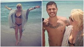 Wanda Nara, relax a Miami con Icardi: il bikini è esplosivo