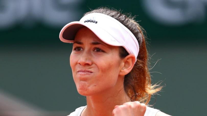 Tennis, Roland Garros Wta: Garbine Muguruza vince nel 2° turno