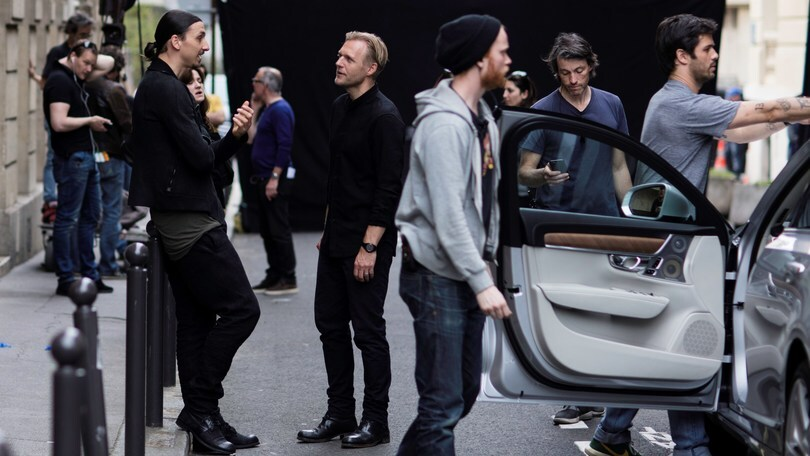 Ibra ambasciatore della nuova Volvo V90