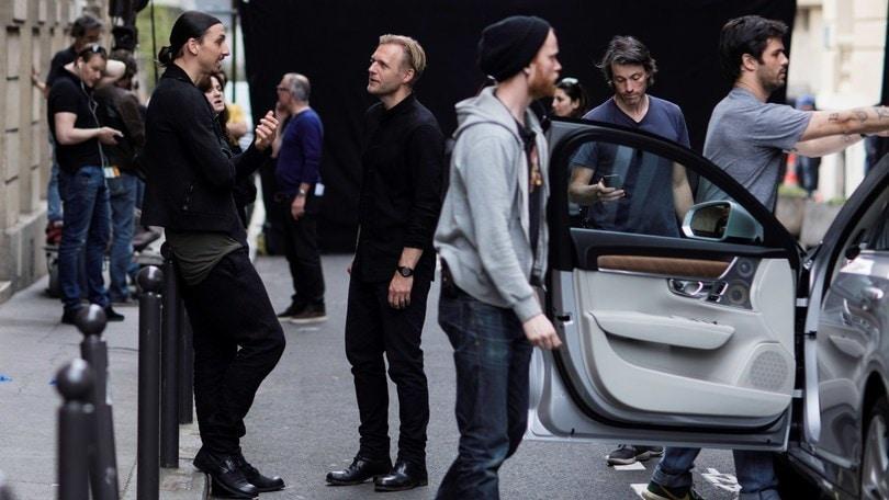 Volvo lancia la V90 con Ibrahimovic