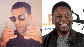 Dani Alves stuzzica Pelé: «Ho vinto più titoli di te»