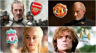 United-Lannister e Liverpool-Targaryen: la Premier e Game of Thrones
