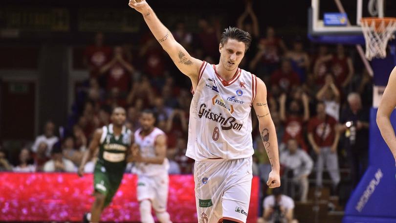 Basket Serie A, Reggio si riscatta: va sul 3-2