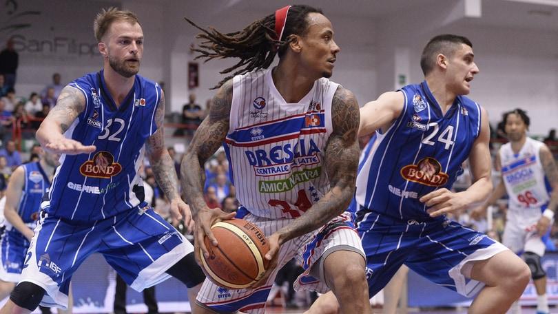 Basket A2, Brescia ultima semifinalista