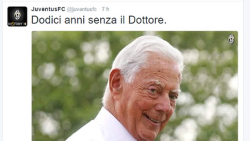 La Juventus ricorda Umberto Agnelli a 12 anni dalla scomparsa - Corriere dello Sport.it