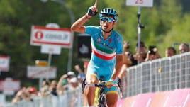 Giro, Tappa 19 - Le statistiche di Vincenzo Nibali