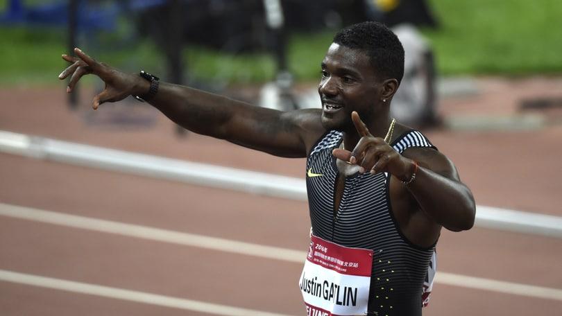 Gatlin al Golden Gala riapre la caccia a Bolt