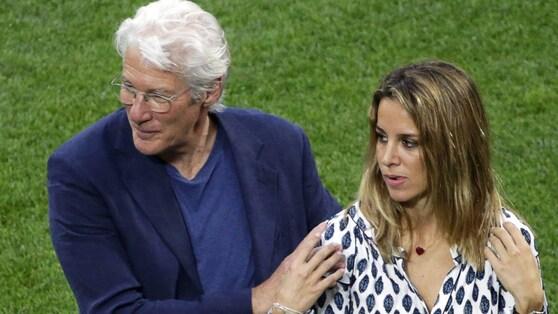 Tanti vip a Milano per la Champions, c'è anche Richard Gere