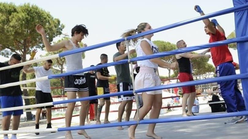 La Festa dello Sport ospita i campioni della kickboxing