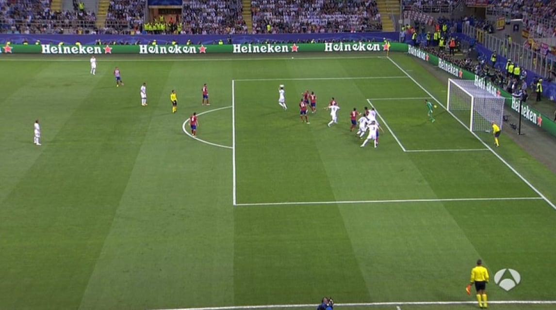Real-Atletico: il gol di Sergio Ramos è in fuorigioco