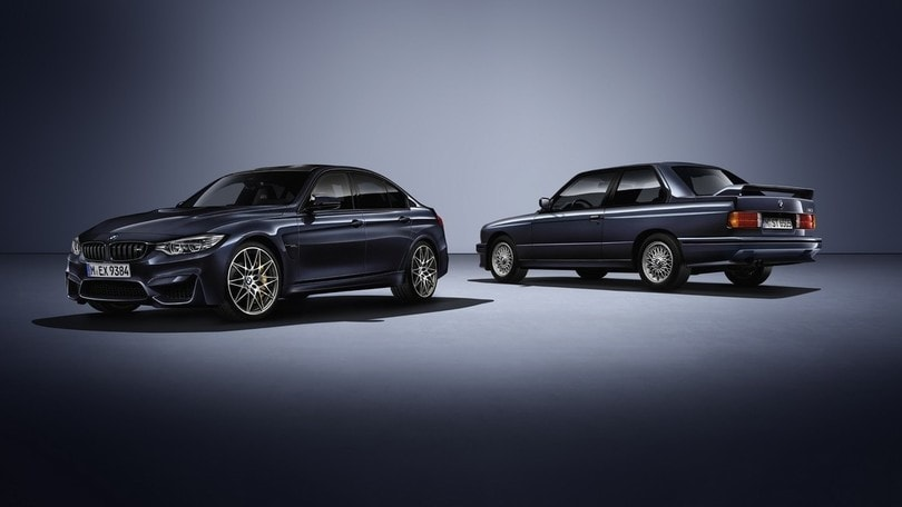 "BMW M3 ""30 Jahre Edition"", buon compleanno M3"