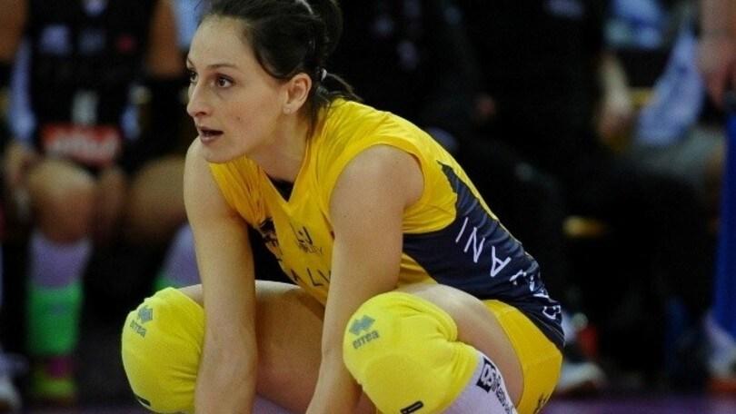 Volley: A1 Femminile, Chiara Arcangeli primo rinforzo di Monza