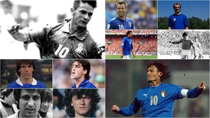 Italia, quando il numero 10...era il numero 10: Baggio, Del Piero e Totti gli ultimi simboli
