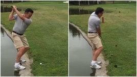 Quando dal golf si passa... ai tuffi!