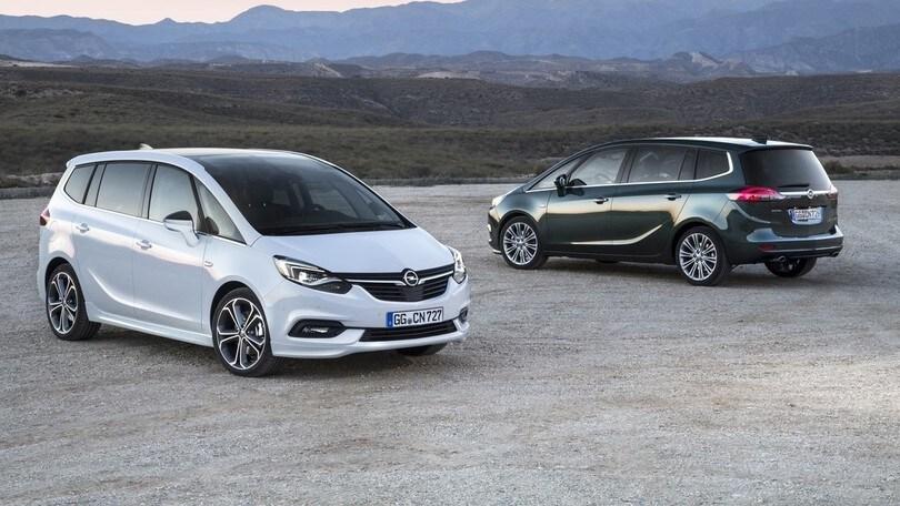 Opel Zafira, a settembre arriva il restyling