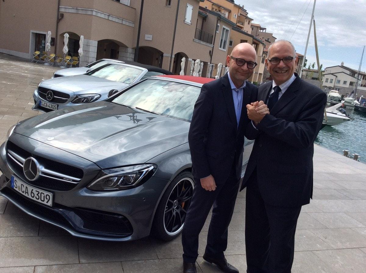 Blasetti-Lanzoni, l'intervista doppia di Mercedes-Benz Italia