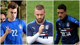 El Shaarawy, De Rossi e Florenzi: la Roma in Nazionale