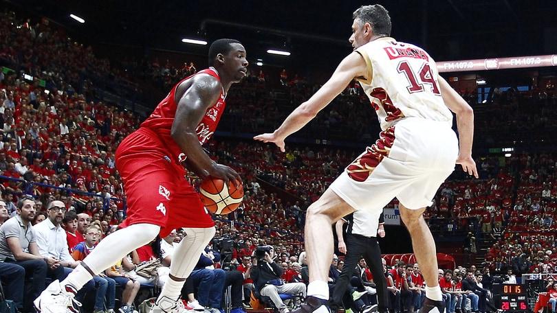 Basket, Serie A: Milano vola, l'«1» su Reggio Emilia a 1,27