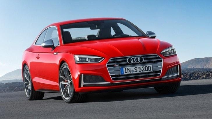 Audi A5 e S5, svelata la seconda generazione