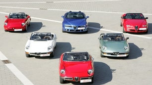 Alfa Romeo Spider, 50 anni di scoperte made in Italy