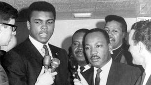Muhammad Ali con i più grandi del mondo