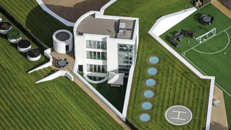 Una special house per jos mourinho la sua nuova casa for Porta quote scommesse