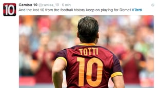 Totti rinnova con la Roma. Ecco la notizia in tutto il mondo