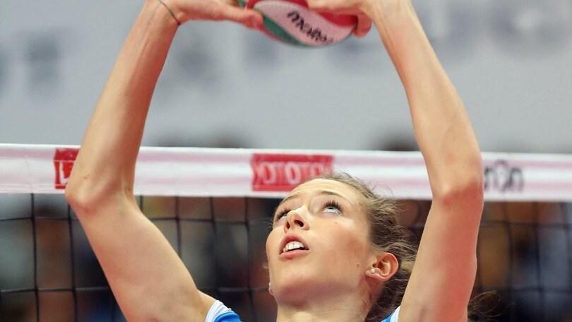 Volley: A1 Femminile, Ofelia Malinov giocherà a Conegliano