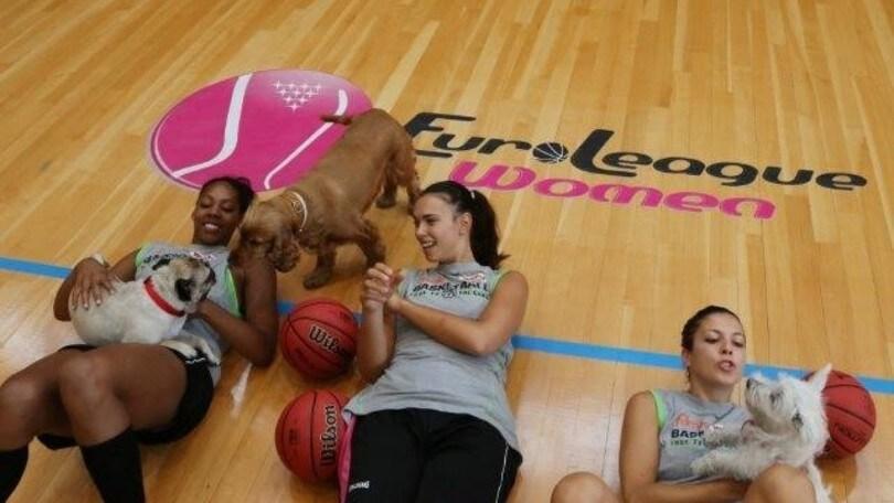 Basket - 160.000 pasti per cani e gatti grazie alla A femminile
