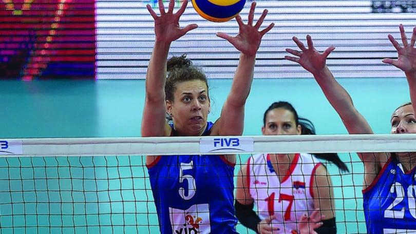 Volley: A1 Femminile, Mina Popovic completa le centrali di Bergamo