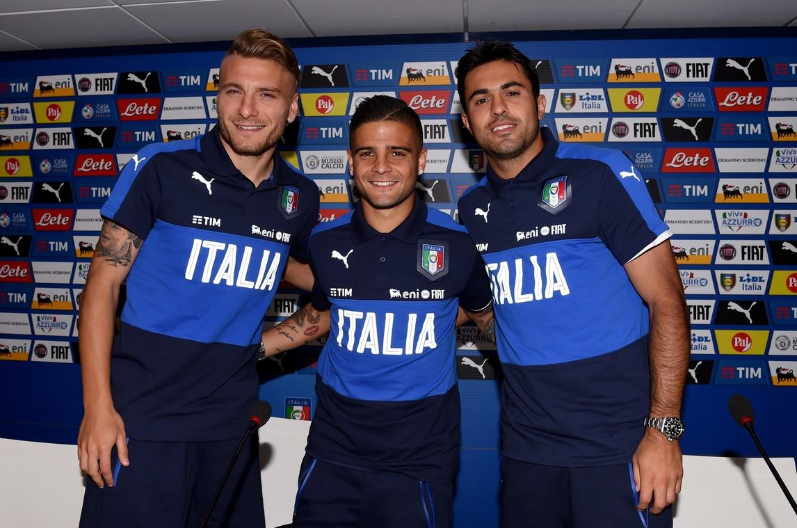 """Euro 2016 Italia: Insigne, Immobile ed Eder: i """"tre moschettieri"""" Azzurri"""