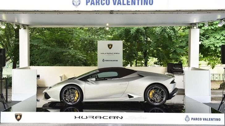 Parco Valentino, tutte le supercar del Salone di Torino