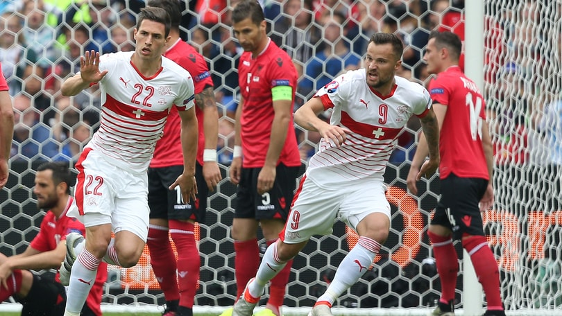 Euro2016, Albania-Svizzera 0-1: De Biasi parte male