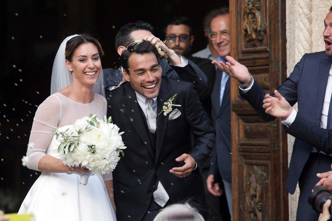 Pennetta Fognini quante stelle dello sport alle nozze Corriere