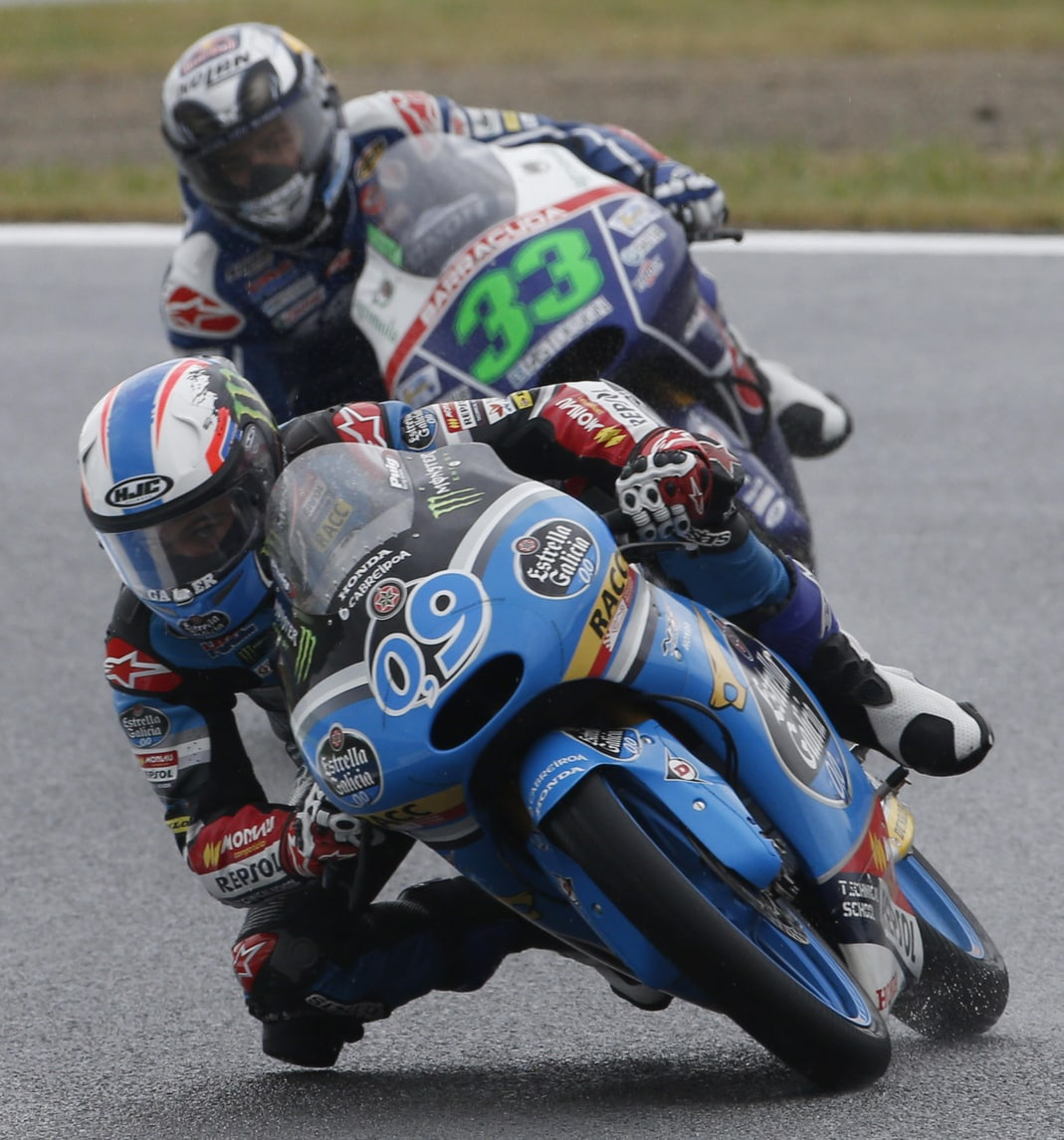 Moto3 Silverstone, terze libere a Navarro