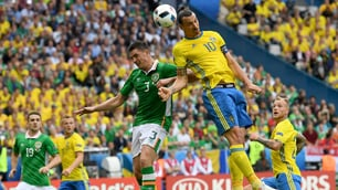 Euro 2016, Irlanda-Svezia 1-1: solo un pareggio per Ibrahimovic